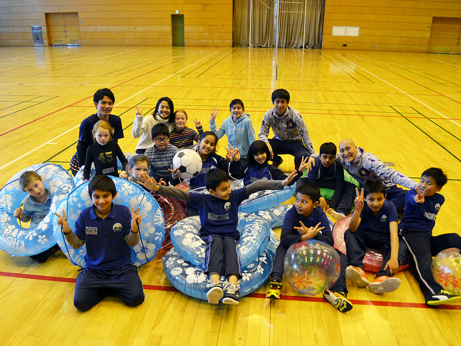 新宿区協働事業で「多文化交流スポーツイベント」実施!