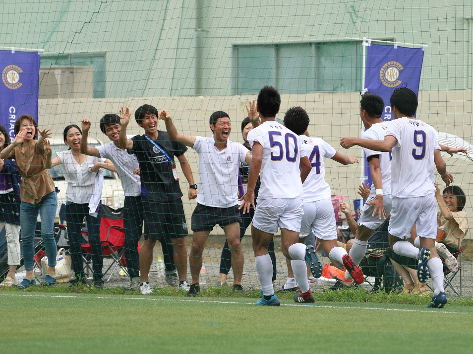 クラブチームが関東2部リーグ優勝決定!