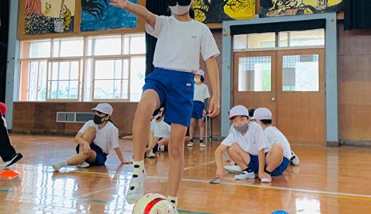 相手の立場になって考える 福岡県築城小学校でブラサカ体験