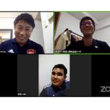「ブラインドサッカーで社会を変える」 Facebookイベントにて、剣持と岡本が寺西選手とライブトーク