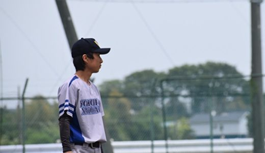 「チームのベクトルを勝利へ。」横国大硬式野球部 藤井さん