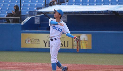 「プレー以外の全ての面から貢献する。」東京大学運動会硬式野球部齋藤さん