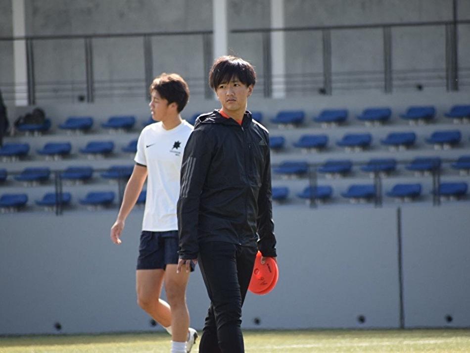「勝利への執念」日本体育大学サッカー部4年石川さん