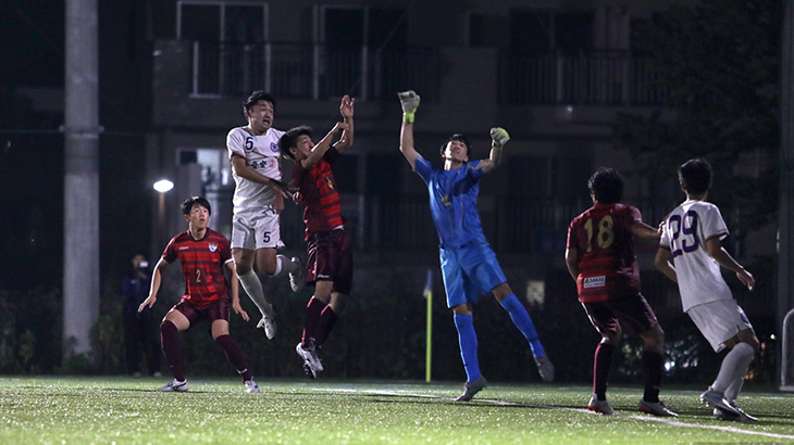 Criacaoは岡本と土田のゴールで勝利!