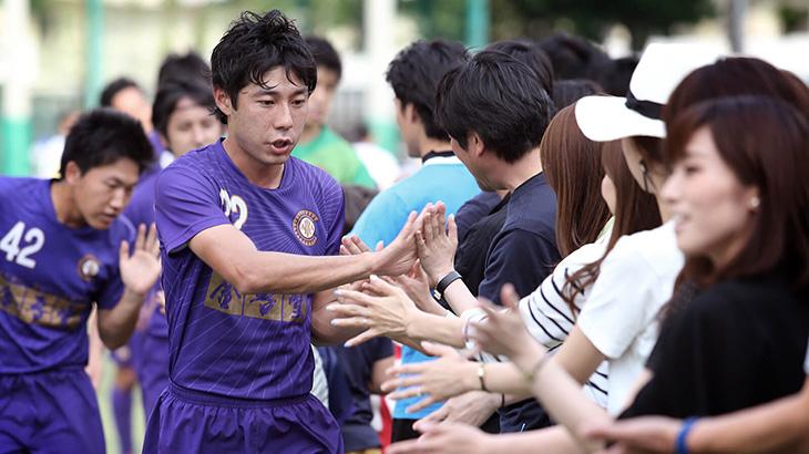 途中出場からチームを救う同点ゴールを決めた#22剣持選手