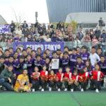 激しい接戦の末、岡本の延長決勝弾で優勝!来季は関東リーグ2部へ