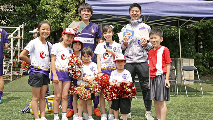#17上村選手、#7川井選手と