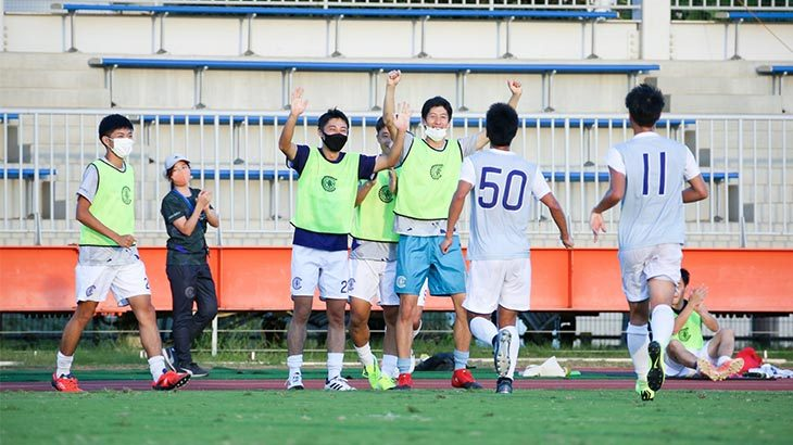 Criacao Shinjuku 待望の勝ち点3。関東1部リーグでの、初勝利を飾る。
