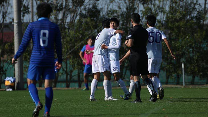 Criacao Shinjuku 関東2部王者の桐蔭横浜大学FCに完勝。タイトル獲得まで、あと1勝|試合レビュー